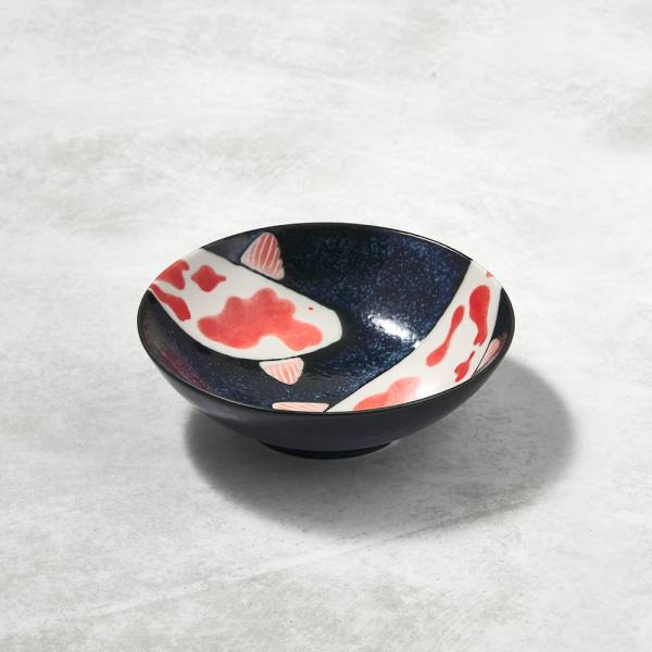 日本AWASAKA美濃燒- 彩鯉釉染小碗 ★ 剛剛好的份量,剛剛好的精緻生活