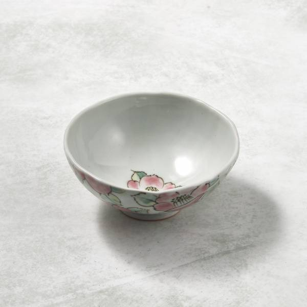 日本設計師系列 - 手捏陶 - 花團飯碗 手捏,手作,職人,日本製,陶器,食器
