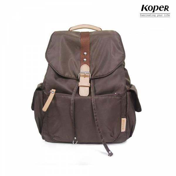 KOPER 輕甜焦糖系列-經典Lovely後背包-拿鐵咖 後背包、台灣設計製造