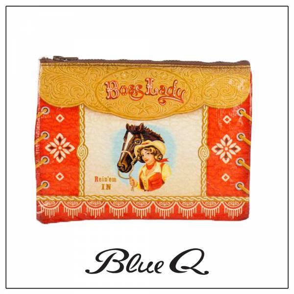 Blue Q 拉鍊袋 - Boss Lady 大女人 收納袋,米袋,環保,創意,設計,再生,公益