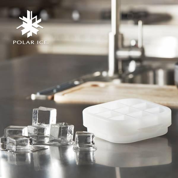POLAR ICE 極地冰球 2.0 配件 - 方塊冰模 製冰盒、冰盒、冰球