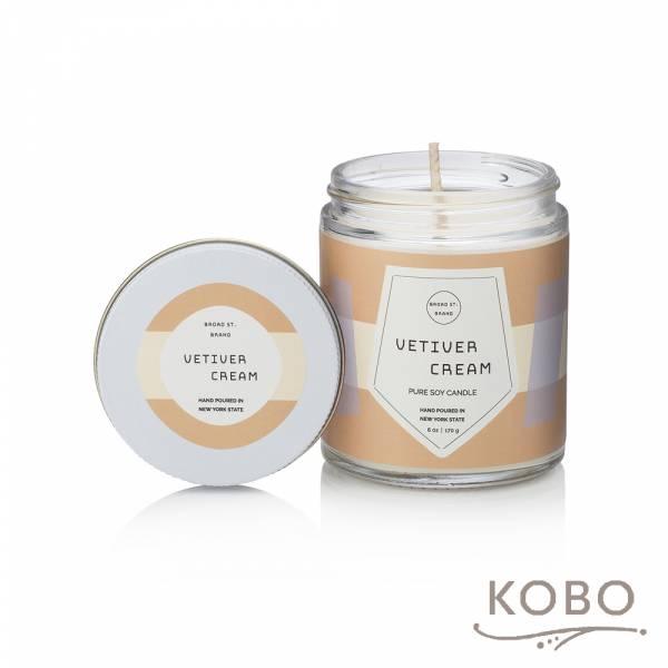KOBO 美國大豆精油蠟燭 - 香根琥珀 (170g/可燃燒 35hr) 精油蠟燭,蠟燭,美國,香氛,天然,手工,旅行