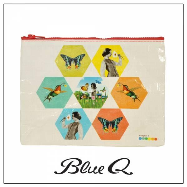 Blue Q 拉鍊袋 - Chapter 6 六角 收納袋,米袋,環保,創意,設計,再生,公益
