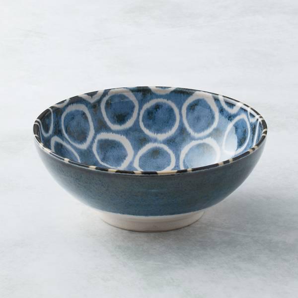 日本AWASAKA美濃燒- 筆青釉繪大碗 - 百丸 日本,原裝進口,丼碗,拉麵碗,沙拉碗,湯麵碗