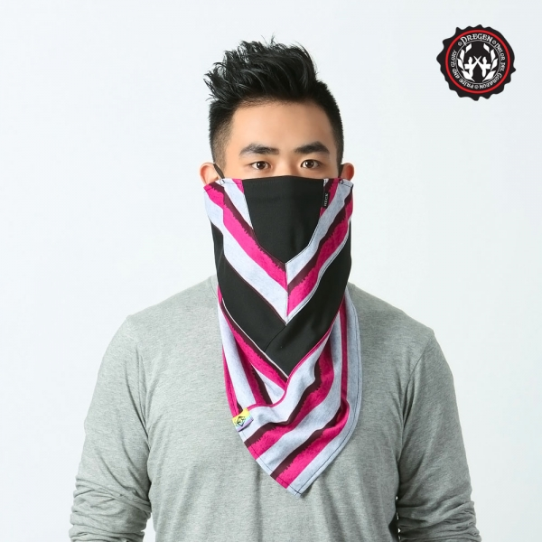 DREGEN TS系列-三角巾面罩-魔幻公路 三角巾面罩、面罩、口罩