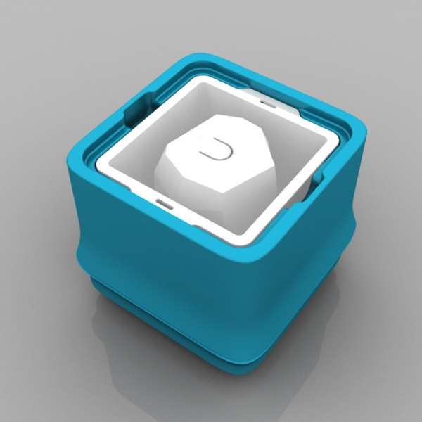 POLAR ICE 極地冰盒 - 方竹系列-藍色 (角冰) 製冰盒、冰盒、冰球