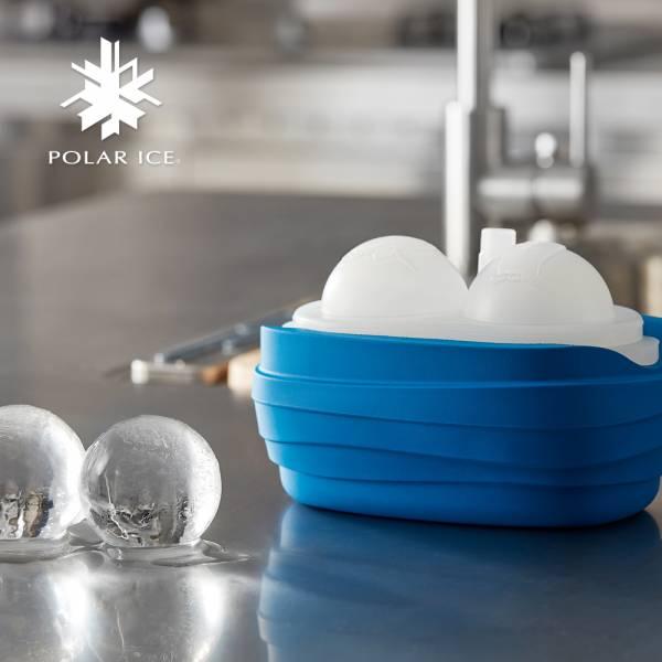 POLAR ICE 極地冰盒 - 極地動物系列 (南極藍) 製冰盒、冰盒、冰球