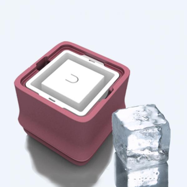 POLAR ICE 極地冰盒 - 方竹系列 粉色 (正方形冰) 製冰盒、冰盒、冰球