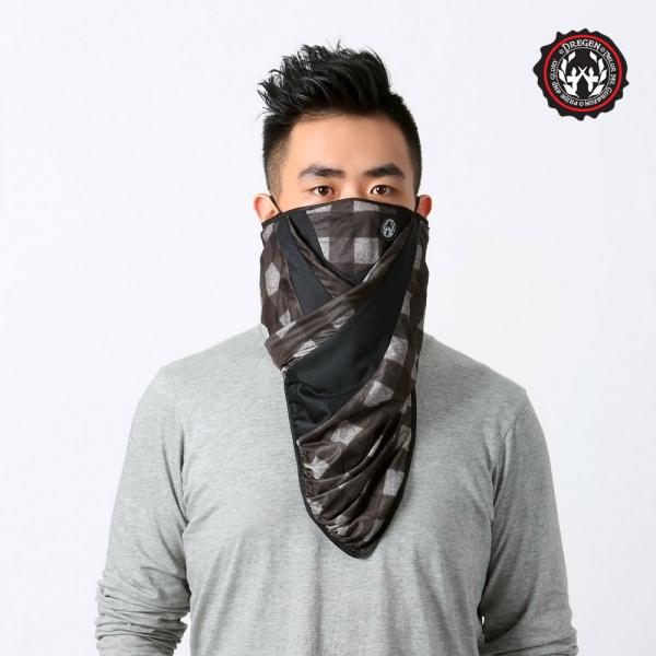 DREGEN  BL系列-三角巾面罩-俠客喝可可 三角巾面罩、面罩、口罩