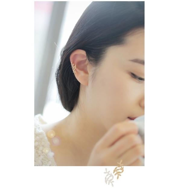 月桂葉耳骨夾【818RF】