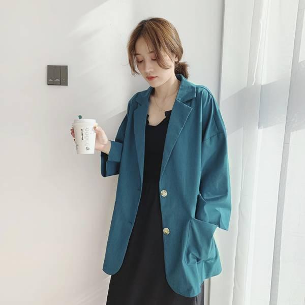 蝶,花田夢。知性女孩款版西裝外套【934AB】