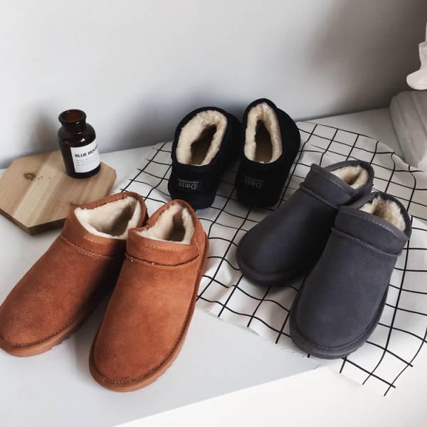 雪地翻滾溫暖毛炸短雪靴【7113YB】#1116
