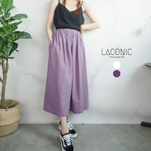 願,繡球花。工裝布料氣質紫色蓬裙【922SD】