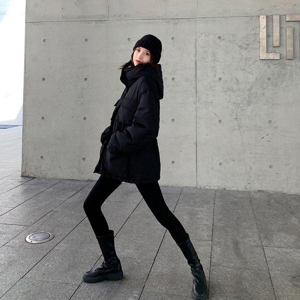 冷,清風雨 。冰肌保暖軍裝羽絨棉外套【944AK】