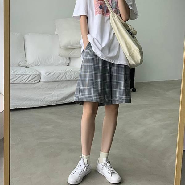 漾,水光鏡。雅痞的休閒五分西裝褲【925BH】