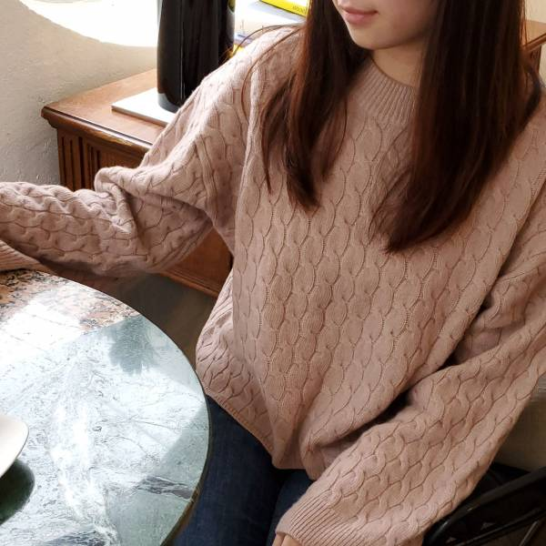 秋風濃・首爾遊羊毛針織毛衣【940ZA】
