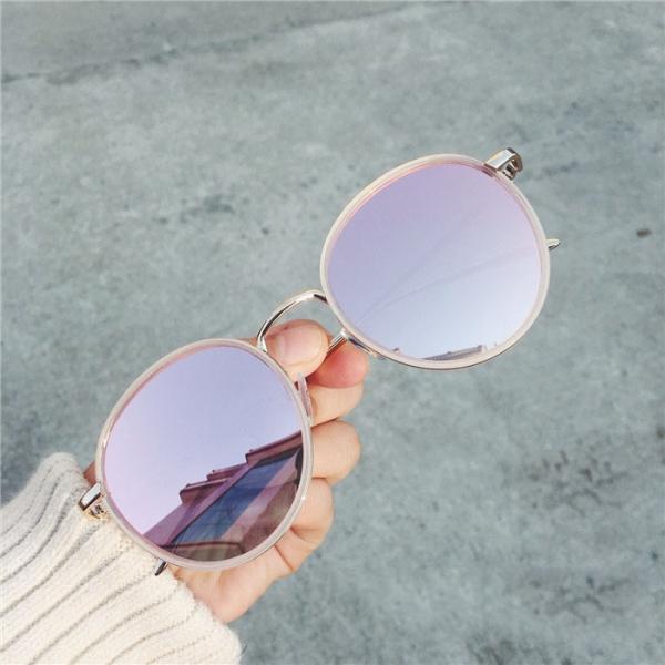 馬卡龍系圓框太陽眼鏡【816RA】