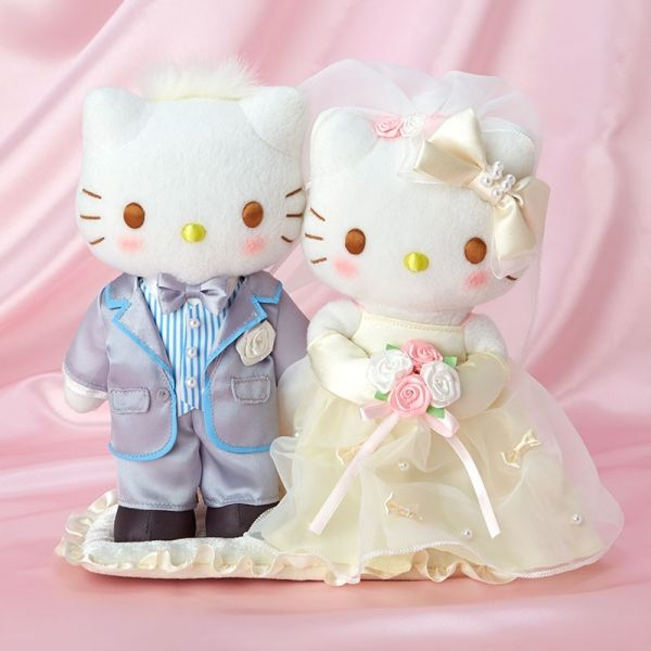 日本 Kitty 雙玩偶 新嫁娘/女兒節 系列