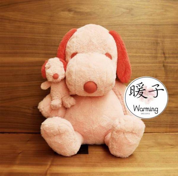 日本限定款 粉紅史奴比 大 / 小 ,收納包 人氣販售中