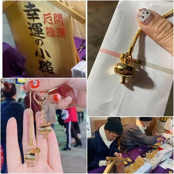 日本製 兵庫西宮神社 財神祭一年一度十日戎限定招財開運小金槌  2款可選