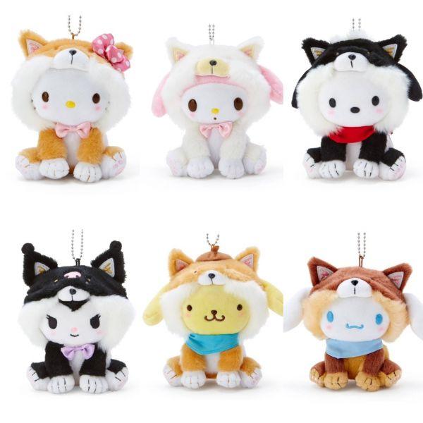 日本 Kitty 變裝秀 柴犬 / 貓咪 / 獨角獸 系列新品