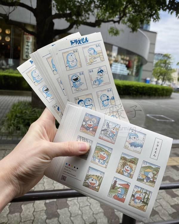 日本多啦a夢70週年紀念郵票