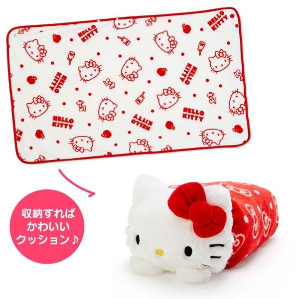 日本 玩偶3way毛毯 10款可選