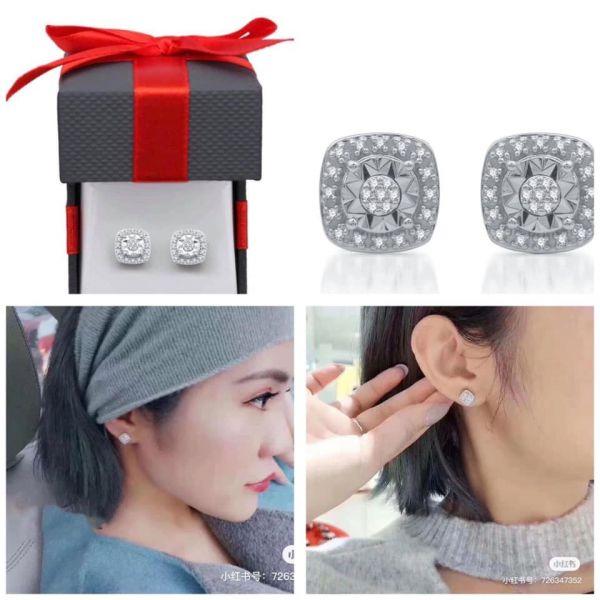 美國Macy's 百貨專櫃0.1克拉真鑽耳環/戒指
