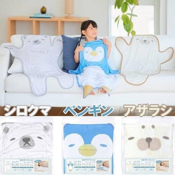 日本可愛動物造型 涼感雙面墊 3款可選