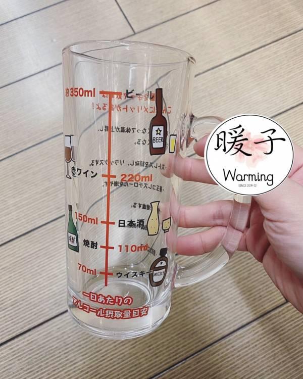日本限量 每日飲酒刻度 玻璃杯 / 下酒菜卡路里杯 / 年度業績達成杯 / 脂肪燃燒杯 6款可選