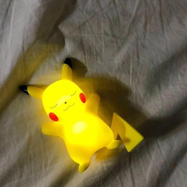 韓國 正版授權 歐歐睏皮卡丘迷你小夜燈 (不挑款隨機出)