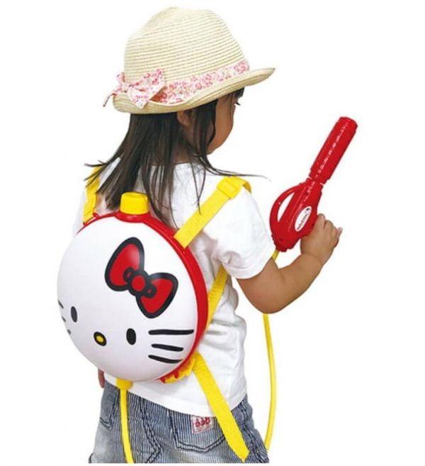 日本限定 Kitty 後背水槍