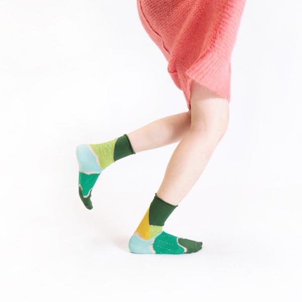 +10・加拾設計襪_森林鐵路1又1/4襪_大井川 mit,短襪,棉襪,+10