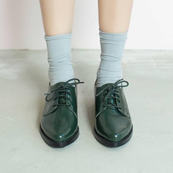 不擠腳紳士鞋!奶油霜霧面德比鞋 全真皮 墨綠 MIT -墨綠 草木系 MIT,真皮,德比鞋,紳士鞋,出國好穿鞋