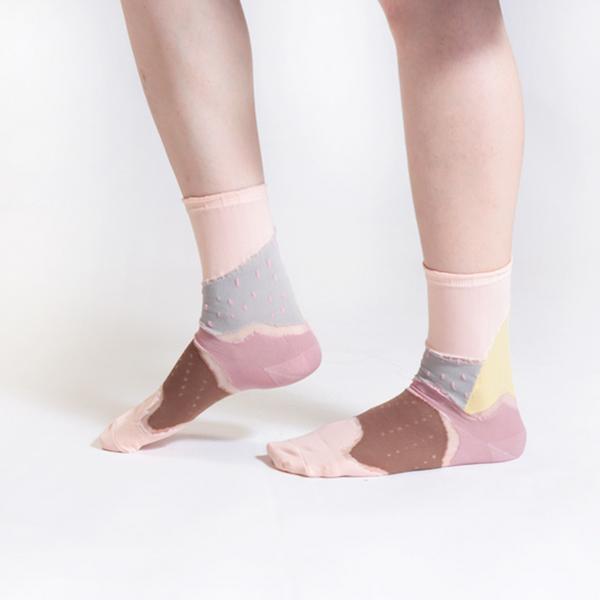 +10・加拾設計襪_森林鐵路1又1/4襪_眠月 mit,短襪,棉襪,+10