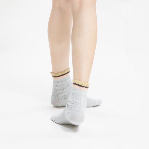 +10・加拾設計襪_因紐特鼓舞3/4襪_詩 mit,短襪,棉襪,+10
