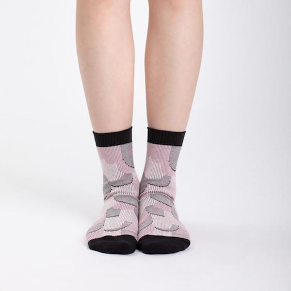 +10・加拾設計襪_大地也會眨眼睛3/4襪_栓皮櫟 mit,短襪,棉襪,+10