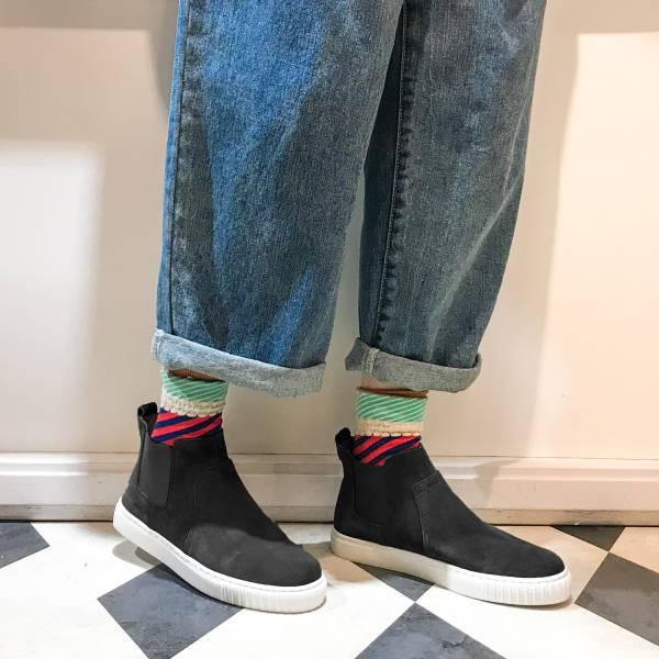 3M機能型!真呼吸牛皮防水短靴 黑 全真皮 MIT 【Major Pleasure】-墨黑色 3M,真皮靴,短靴,雨靴,mit
