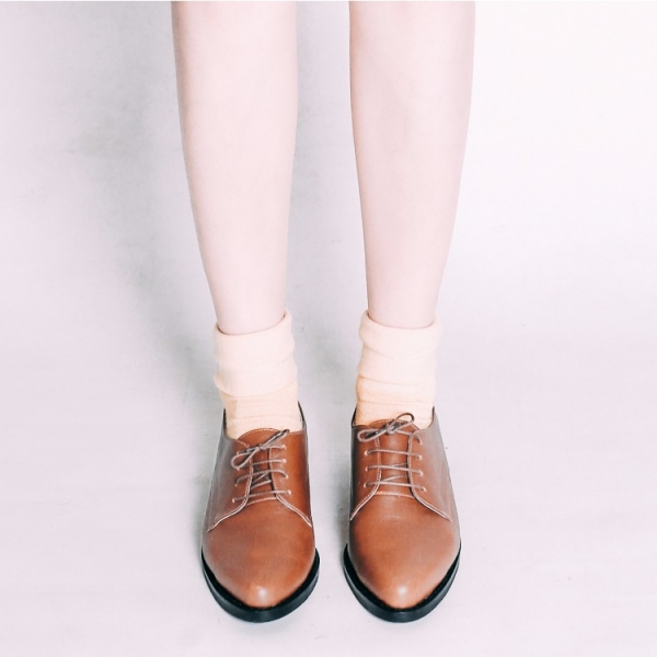 不擠腳紳士鞋!奶油霜霧面德比鞋 全真皮 椰褐 MIT-椰褐 大地色   MIT,真皮,德比鞋,紳士鞋,出國好穿鞋