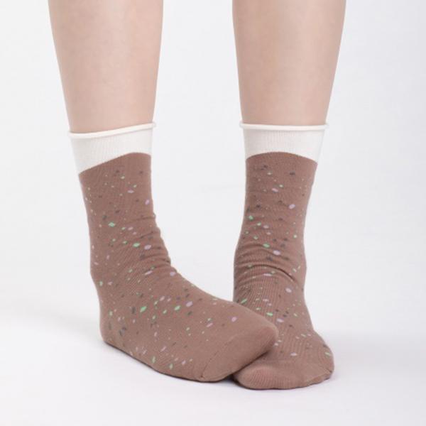 +10・加拾設計襪_下雨的路3/4襪_呼嘯 mit,短襪,棉襪,+10