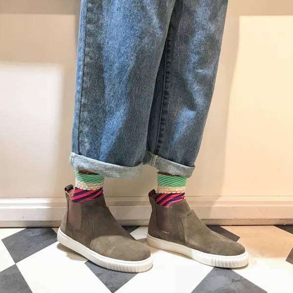 3M機能型!真呼吸牛皮防水短靴 綠 全真皮 MIT 【Major Pleasure】-苔綠色 3M,真皮靴,短靴,雨靴,mit