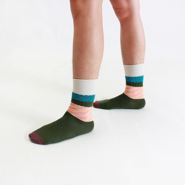 +10・加拾設計襪_吃一碗公1:1襪_茶泡飯 mit,短襪,棉襪,+10