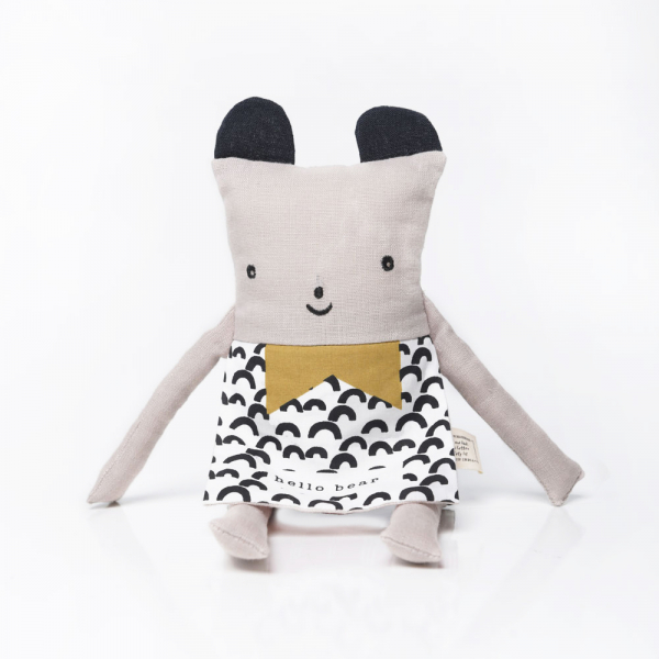Wee gallery淘氣翻翻布偶-熊熊 娃娃,抱枕,填充,玩具,wee gallery,dumbow,安撫,可愛,寶貝