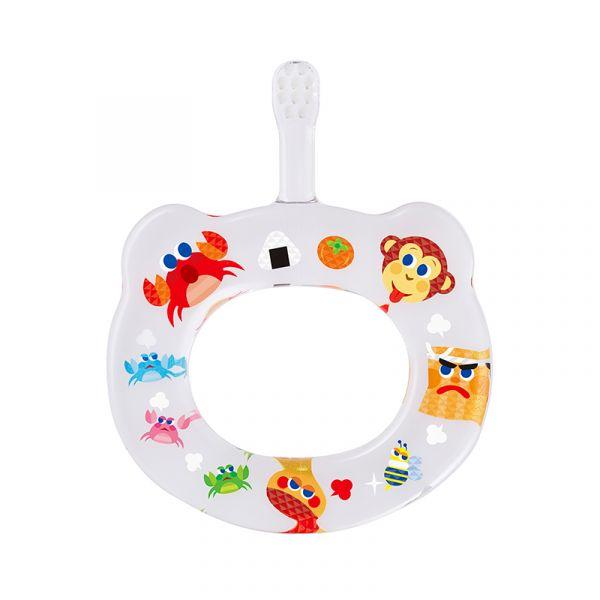HAMICO寶寶顧齒牙刷-猿蟹合戰