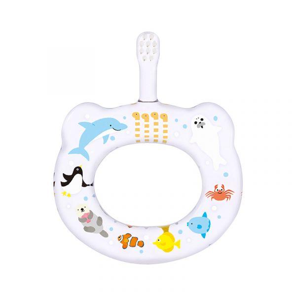 HAMICO寶寶顧齒牙刷-水族館