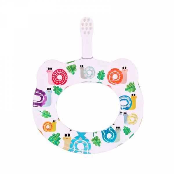 HAMICO寶寶顧齒牙刷-月份10蝸牛
