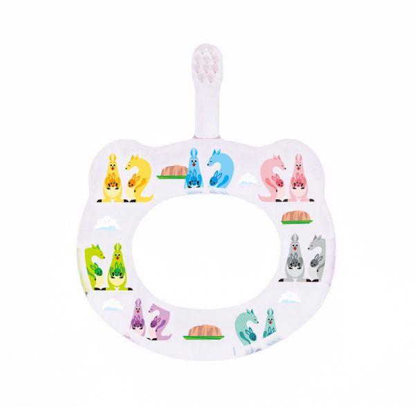 HAMICO寶寶顧齒牙刷-月份12袋鼠