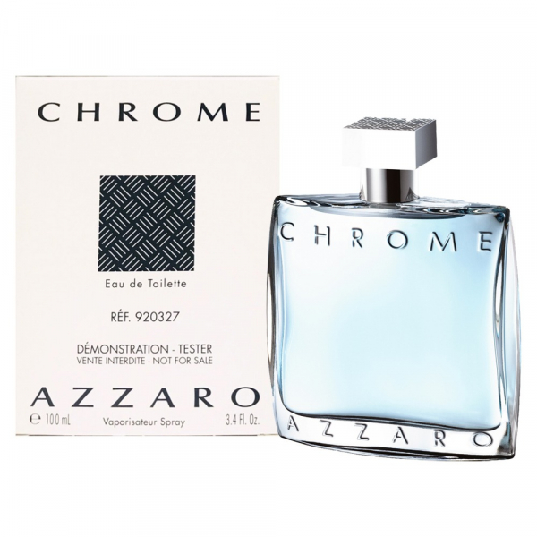 Azzaro Chrome 海洋鉻元素男性淡香水100ml tester Azzaro Chrome,海洋鉻元素,酪元素,男性淡香水