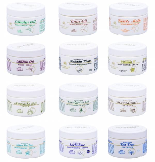 G&M AUSTRALIAN CREAMS 澳大利亞 澳洲乳霜 / 面霜 250g (多款任選) G&M ,澳大利亞,乳霜