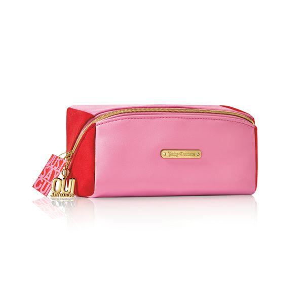 Juicy  Couture 紅粉印記化妝包 Juicy  Couture 紅粉印記化妝包